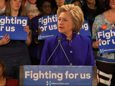Clinton Hits Sanders on Sandy Hook Statements