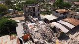 Drone images show town of Pedernales devastated by Ecuador quake
