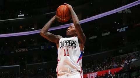 Los Angeles Clippers guard Jamal Crawford wins Sixth Man of the Year for third straight year.