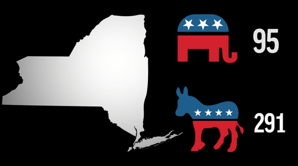 Delegates up for grabs on Primary Day in New York