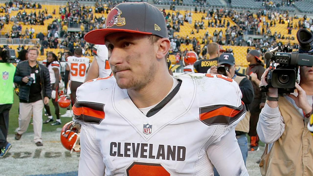 Johnny Manziel's football future looks like afterthought