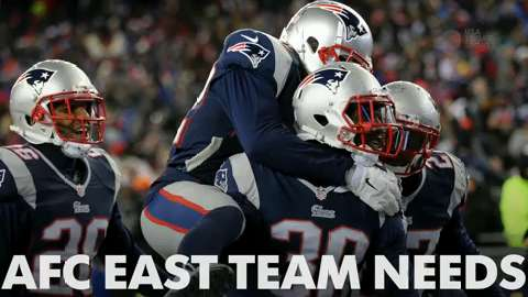 Russ Lande gives his three needs for each team in the AFC East ahead of the NFL draft.