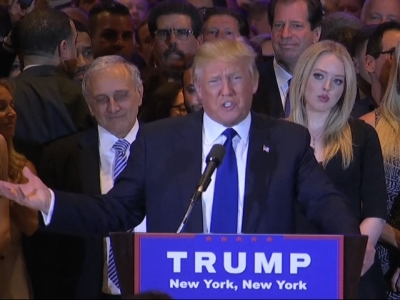 Donald Trump basks in New York primary victory