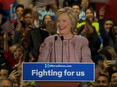 Clinton in New York: There's no place like home!