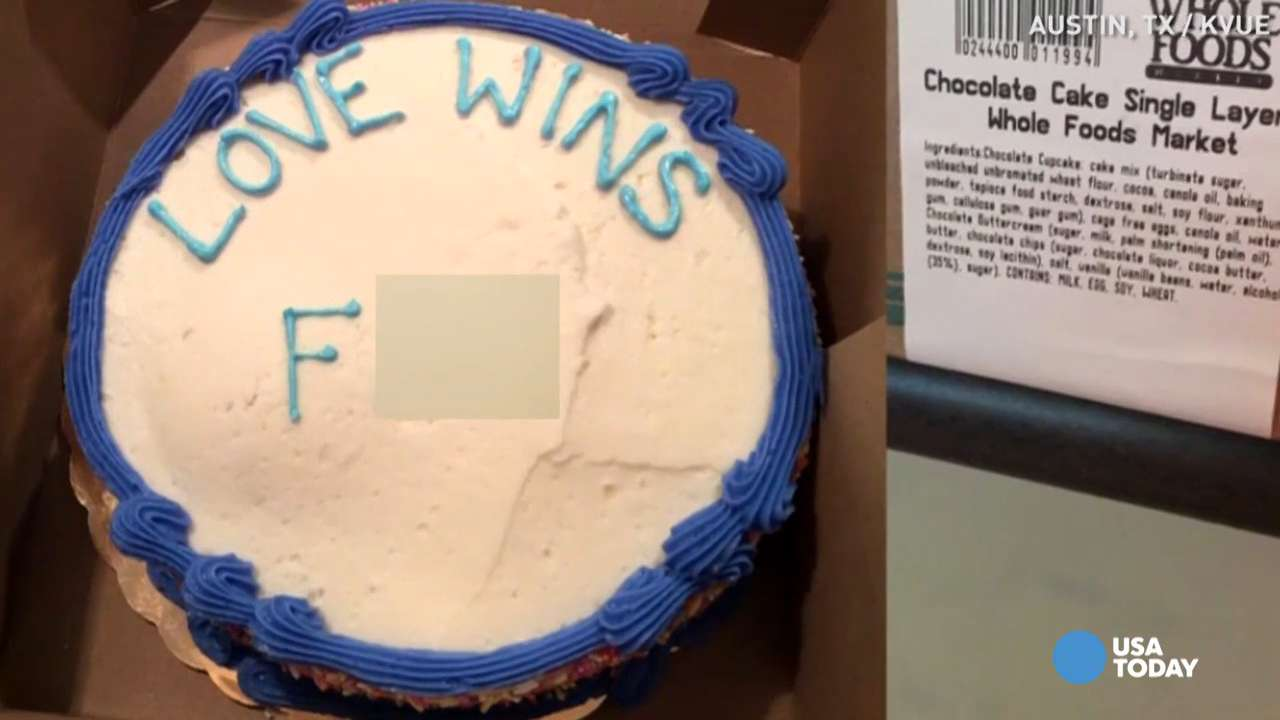 Whole Foods Cake With Alleged Gay Slur Is Fake