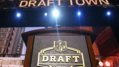 Eagles trade for No. 2 overall pick in NFL draft