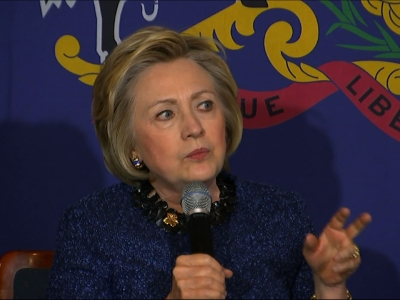 Clinton: 'We Have Just too Many Guns' in US