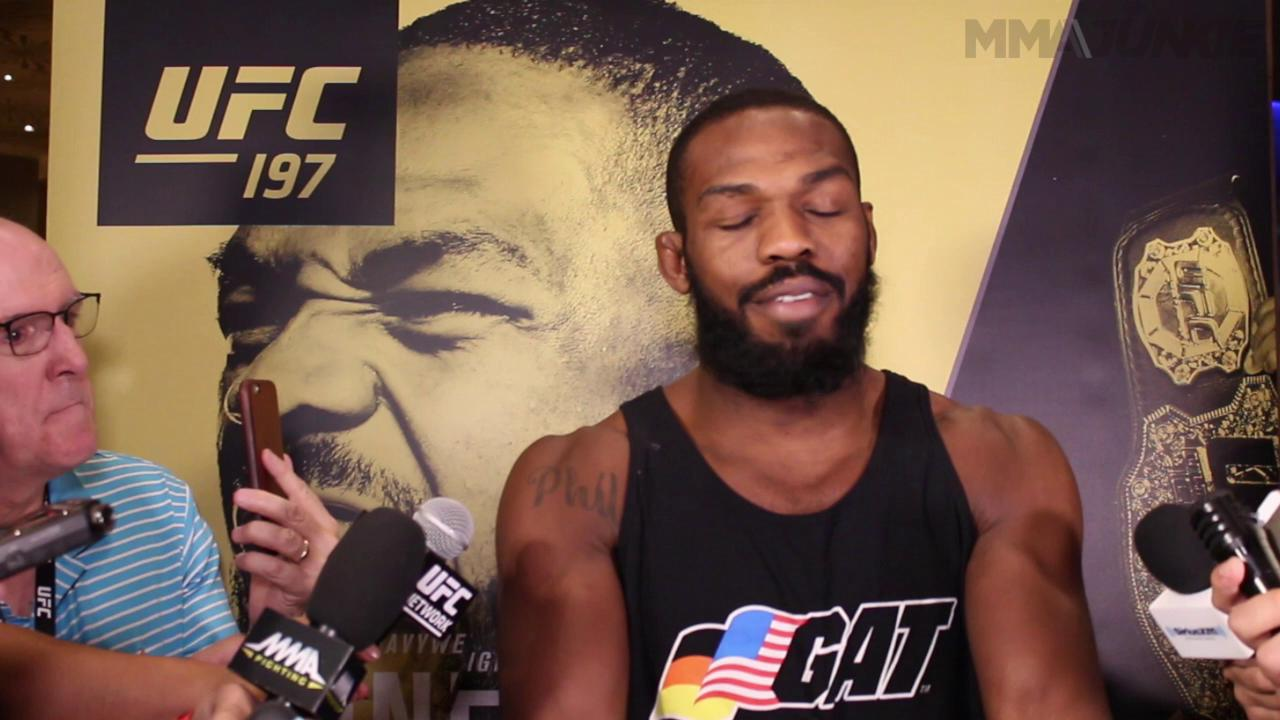 Jon Jones warming to Daniel Cormier ahead of UFC 197 but still can't wait to beat him up