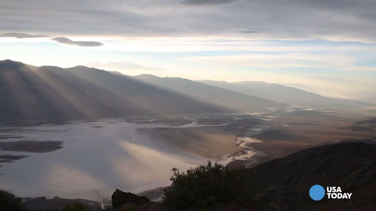 Death Valley National Park may sizzle in the summer, but it's definitely one of the coolest landscapes on Earth. Video shot by Marilyn Chung, The Desert Sun.