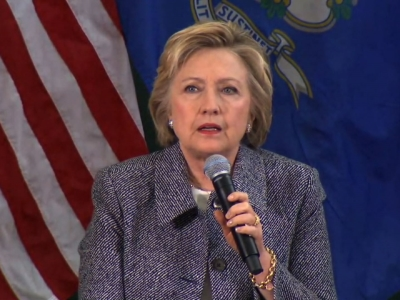 In Conn., Clinton Vows Changes to Gun Culture