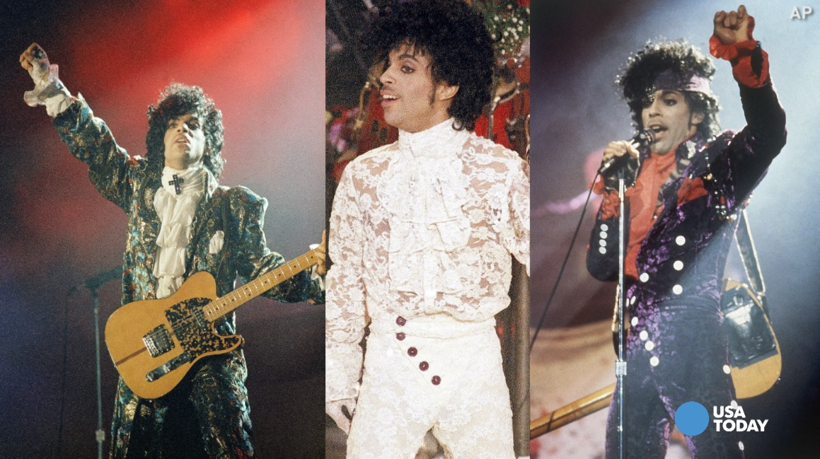 Prince's most memorable fashion statements