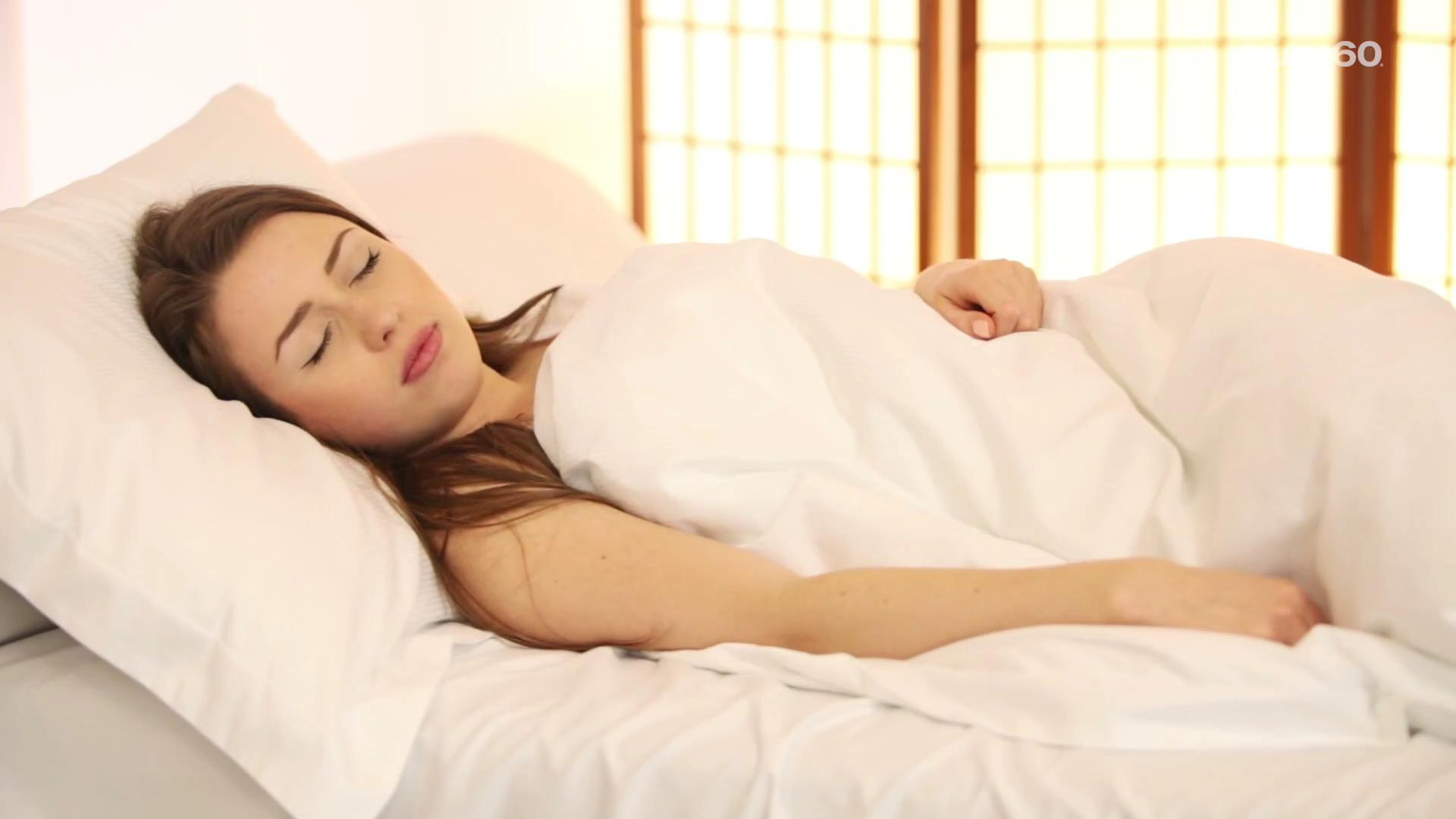 This is why you can't sleep in a strange bed