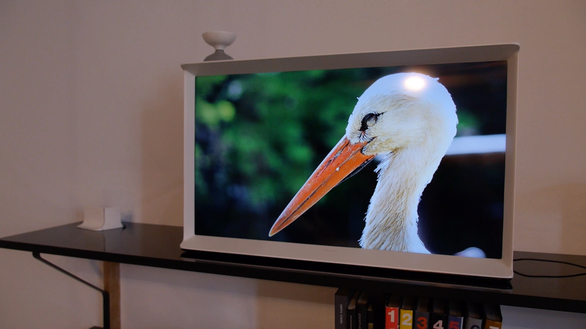 This Samsung TV is too cool for your living room