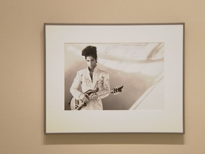 Prince on display at National Portrait Gallery