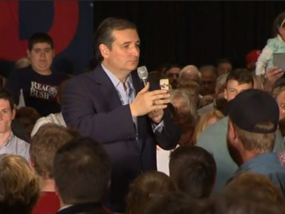 Cruz Goes After Trump On Campaign Trail in Pa.