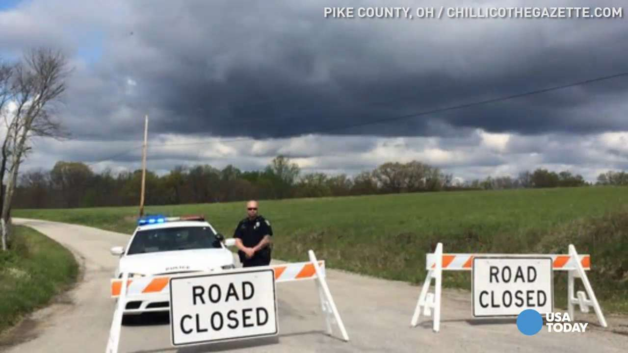 Police near Peebles, Ohio, investigated the reported death of seven family members at a home 75 east of Cincinnati.
