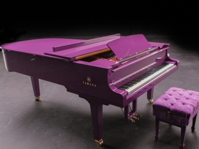 Get the inside scoop on Prince's custom purple piano