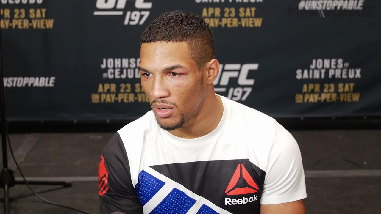 Kevin Lee knew no matter what he was goign to get the win at UFC 197