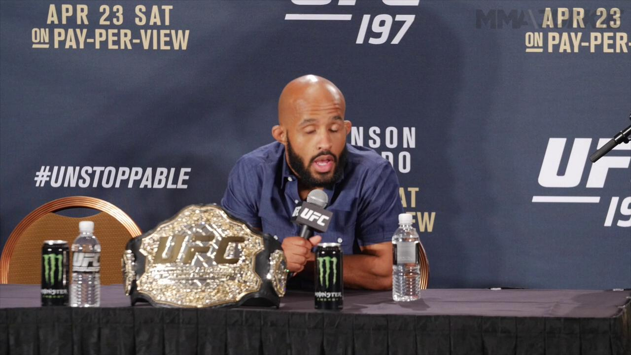 After UFC 197 win, Demetrious Johnson still chasing Anderson Silva's record