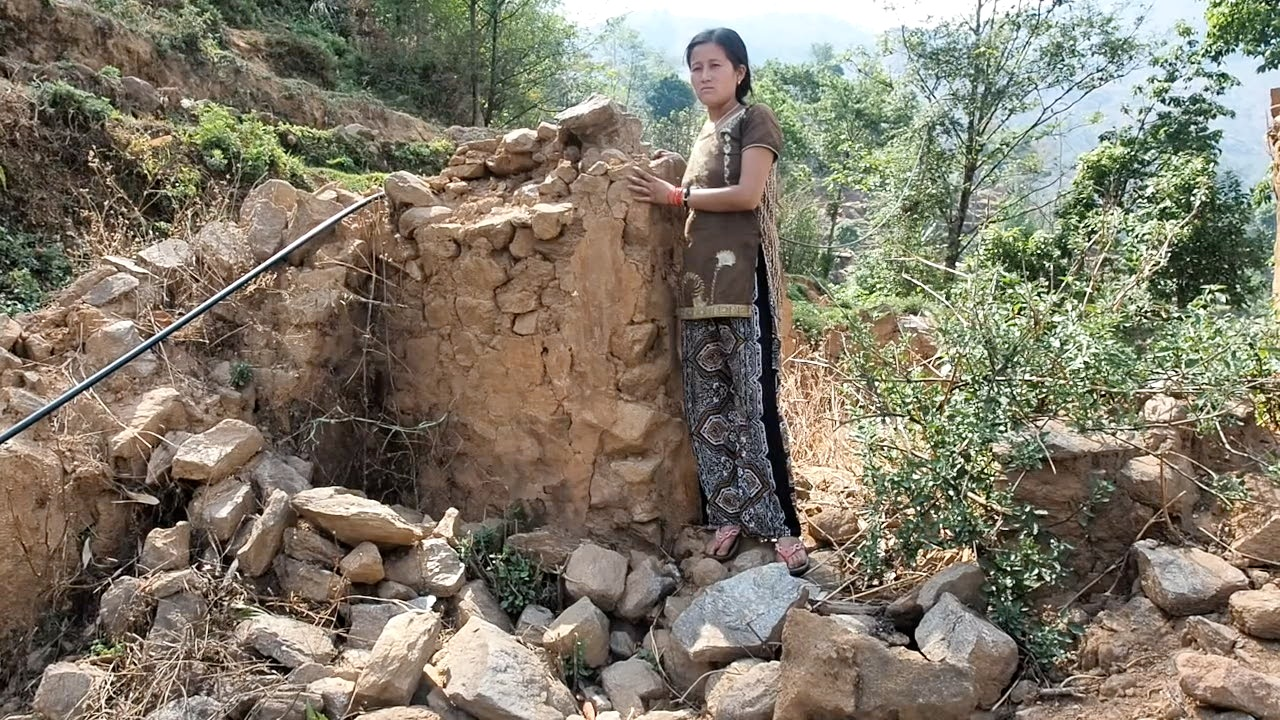 Remote Nepalese village struggles to rebuild after 2015 earthquake