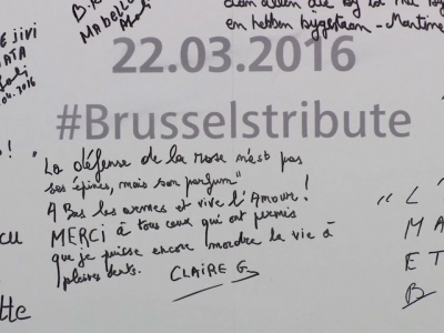 Raw: Brussels train station reopens
