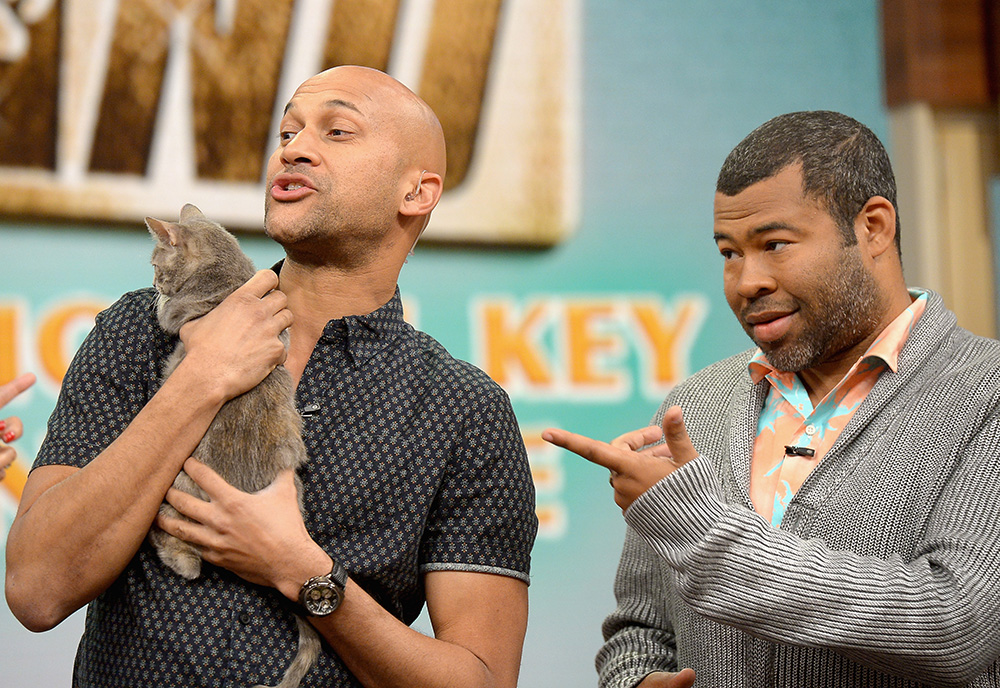Cat and Peele: 'Keanu' stars on working with kittens