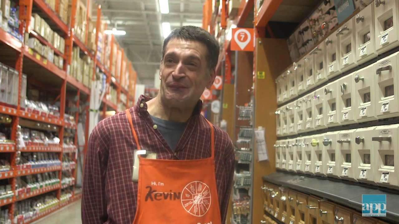 Beloved Home Depot worker is inspiring from aisle 16