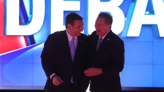 Should Trump worry about Cruz and Kasich working together?