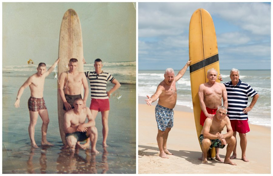 Photo of a lifetime: 4 Marines, 50 years later