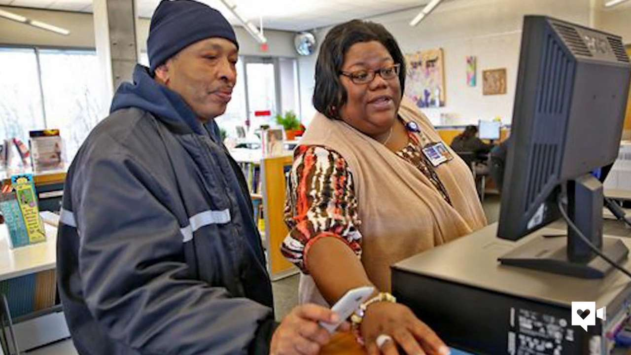 Librarian creates place of hope & love for neighborhood