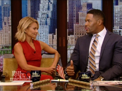 "Returning to ""Live"" after several days' absence, Kelly Ripa addressed the uproar that erupted last week when she was blindsided by the announcement that her co-host, Michael Strahan, is headed to ""Good Morning America"" full-time. (April 26)"