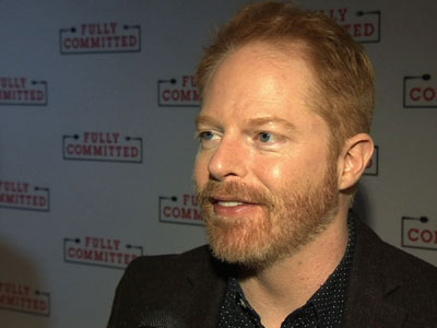 """When Jesse Tyler Ferguson last starred on Broadway, he had to spell, but this time around, it's more about counting as the 'Modern Family"""" star takes on more than 40 roles in the one-man show, 'Fully Committed.' (April 26)"""
