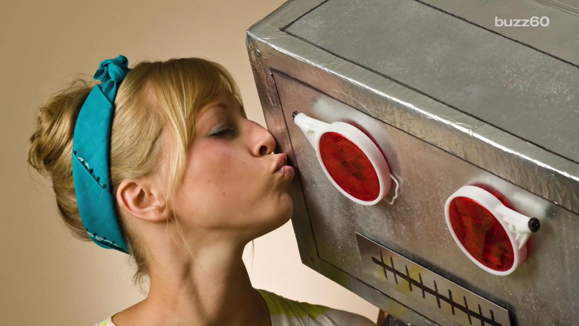 A surprising number of people would date robots