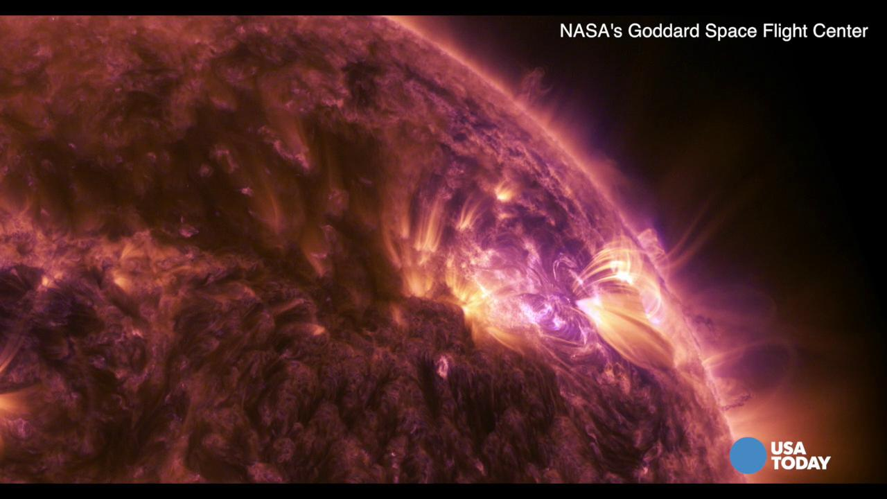 NASA releases 'stunning' solar flare video