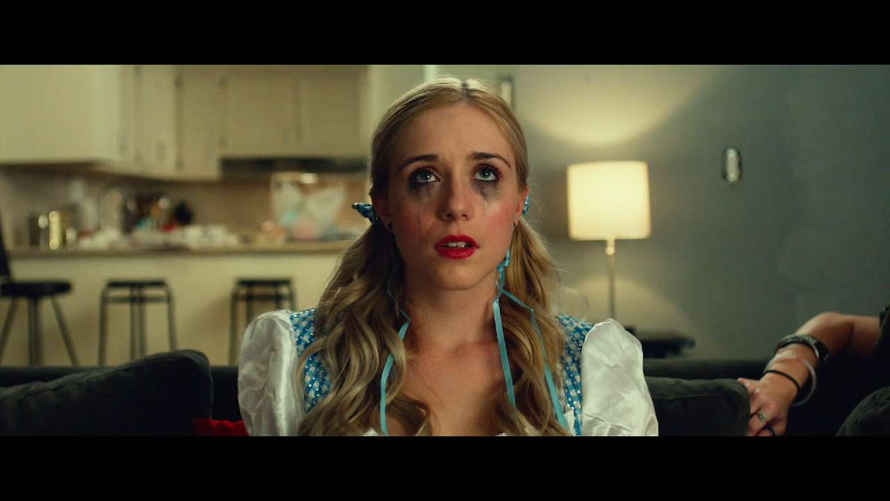 """Ashley Greene, Olivia Roush and Harley Quinn Smith star in an exclusive clip from director Kevin Smith's Halloween short in the anthology film """"Holidays."""""""