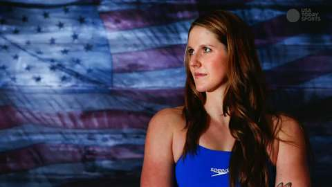 Olympic swimmer Missy Franklin sits down with USA TODAY Sports to discuss her past Olympic experience and her road ahead to Rio.