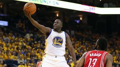 Warriors eliminate sluggish Rockets