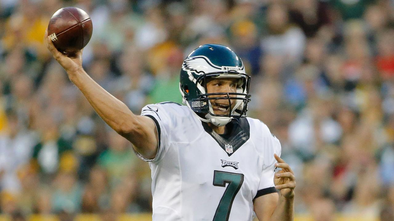 The Denver Broncos are looking to shore up their quarterback situation by trying to acquire Eagles QB Sam Bradford, according to a KUSA-TV report.