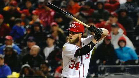 Bryce Harper getting the Barry Bonds treatment
