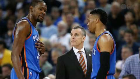USA TODAY Sports' Kevin Spain and Jeff Zillgitt sit down to discuss the success the Thunder coach had in this year.
