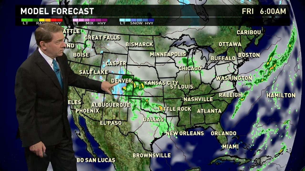 Friday's forecast: Soggy weather lingers