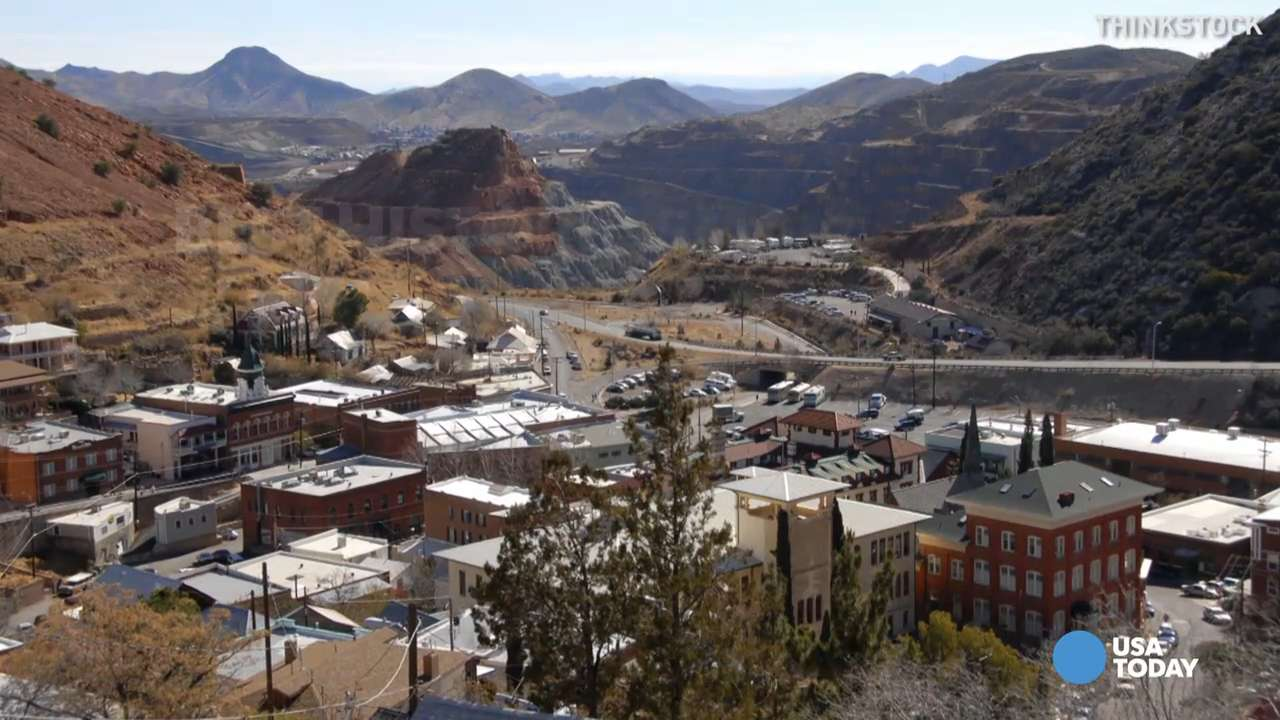 This Arizona town produced more than $6.1 billion worth of mineral wealth in less than 100 years of mining operations. It was voted as the best historic small town by 10Best.com and USA TODAY readers.