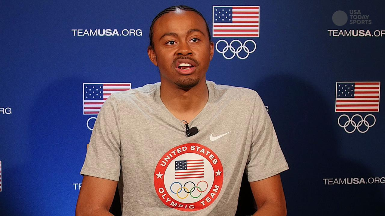 American hurdler Aries Merritt discusses his experience of overcoming medical hurdles and the upcoming Rio Olympics.