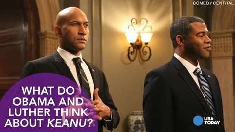 Key and Peele as their characters 'Luther' and 'Obama' tell the world why we should all see 'Keanu.'
