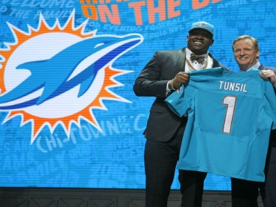 Dolphins Pick Tunsil 'Hacked', Claims 'Mistake'