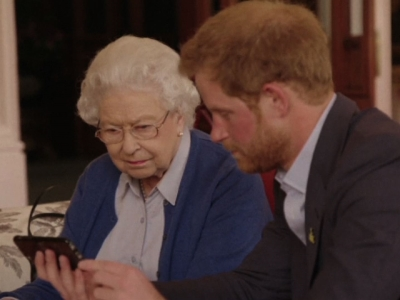 It helps to have friends in high places when you're promoting an athletic event. That's certainly the case for Prince Harry, who released a video on Friday promoting the upcoming Invictus Games for wounded veterans. (April 29)