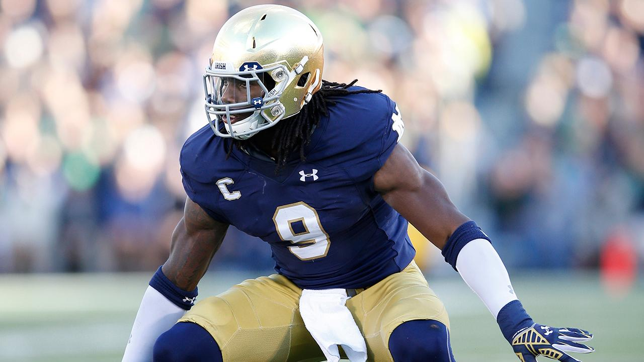 The Dallas Cowboys selected linebacker Jaylon Smith out of Notre Dame with the third pick in the second round of the NFL draft.