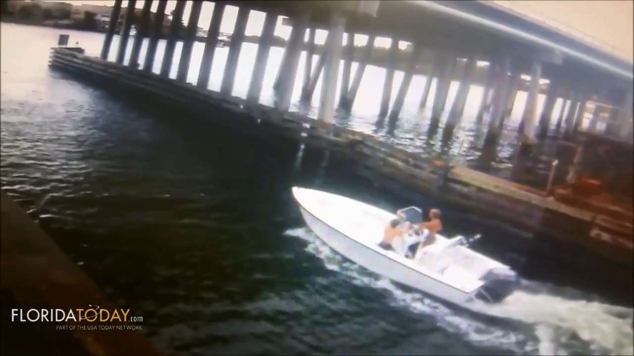 Video released by the Florida Fish and Wildlife Conservation Commission Law Enforcement Division shows missing teens in boat heading out of Jupiter Inlet to the Atlantic Ocean in July 2015. Posted April 29, 2016.