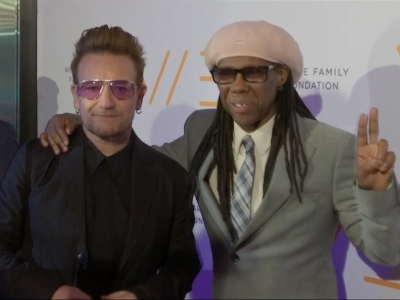 "Nile Rogers Thinks Bono Is ""incredible"""