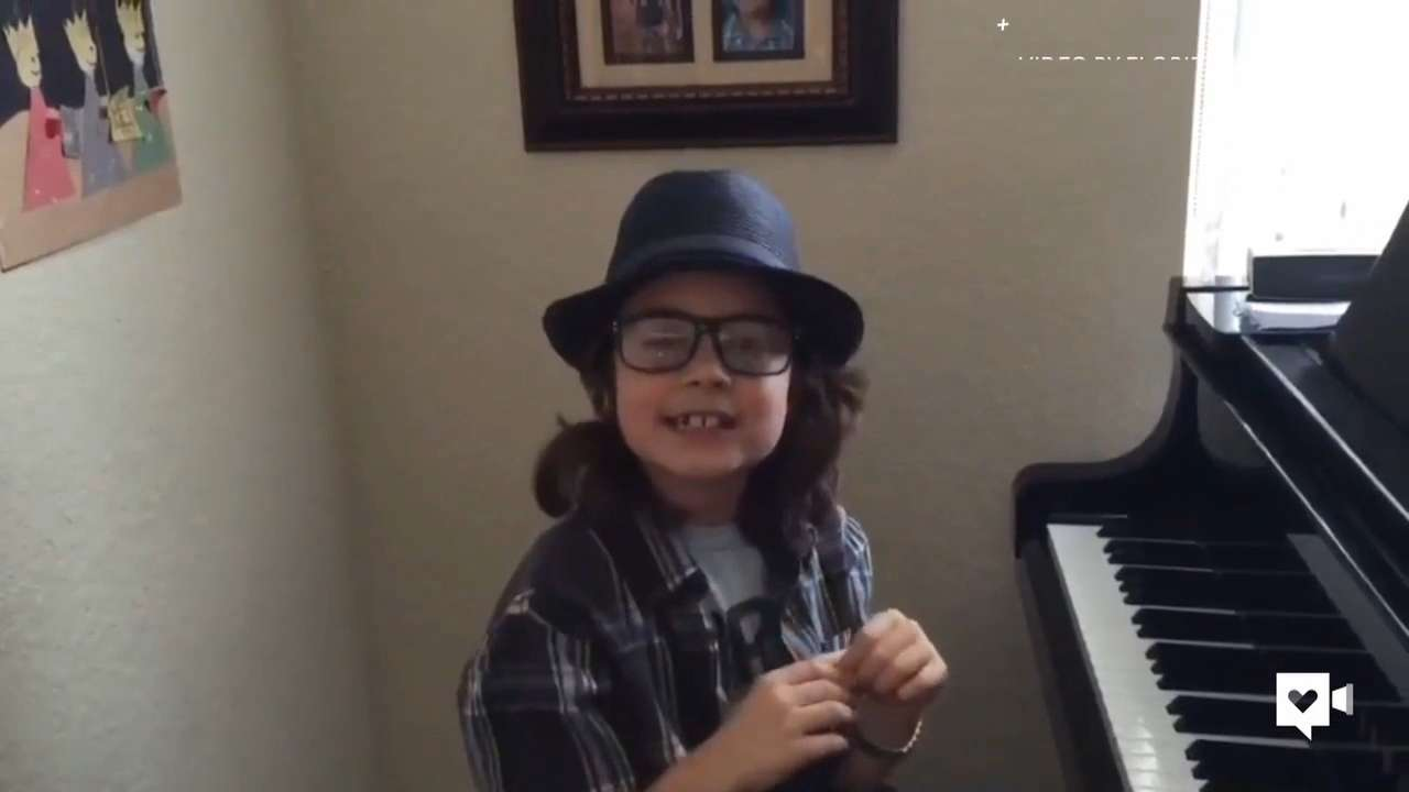 Jacob is a child prodigy. At age 8, he already has an album out, and is doing concerts. He's proving to everyone an autism diagnosis doesn't mean you can't achieve great things.